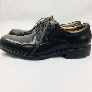 Florsheim Mens Size 10 D Brown Dress Shoes Leather